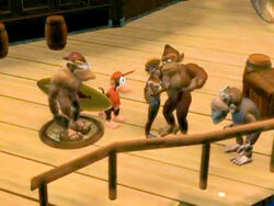 Donkey Kong and friends