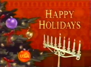 Happy Holidays from USA Network