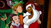 Scooby as Santa again