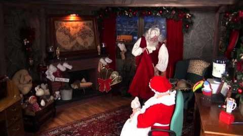 Santa Snooper Webcam Video 004- Global Santa, Magic Truck