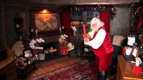 "Santa Claus plays Reindeer Games on ""The Santa Snooper"" from the elves at emailSanta.com!"