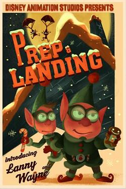 Prep and Landing poster