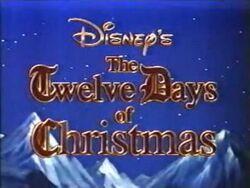 Title-DisneysTwelveDaysOfChristmas