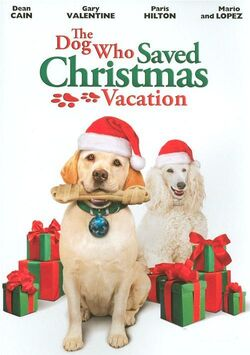 TheDogWhoSavedChristmasVacation DVD