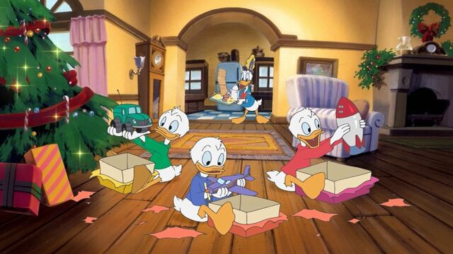 File:Donald and his Nephews in Stuck on Christmas.jpg