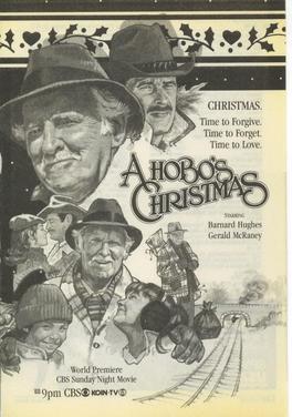 A hobo's christmas print ad 1987