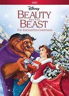 BeautyAndTheBeastChristmas 2016 DVD