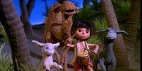 Baba, Samson, and Joshua