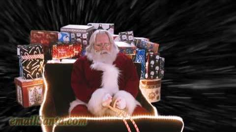 🎅 Laying a finger aside of his nose... a Santa Snooper! 08 00 SCT*