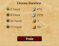 Choose Training Duration