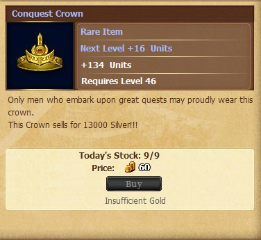 Conquest Crowna