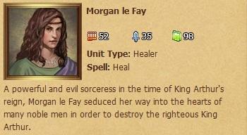 Morgan le Fay - Status Window