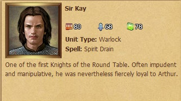 Sir Kay Status Window