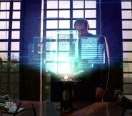 Hydra hologram