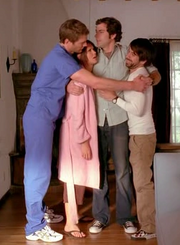 Bartowski family hug