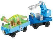 Woodenmodeldinasaur