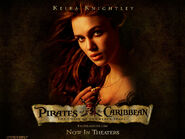Pirates Of The Caribbean, The Curse Of The Black Pearl, 2003, Keira Knightley