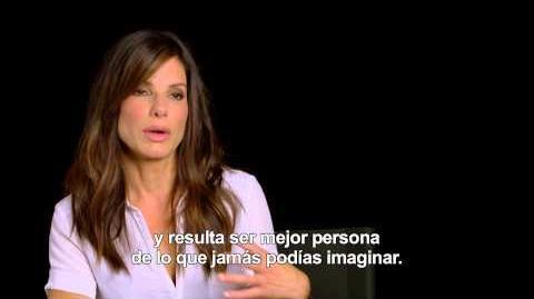Gravity - Entrevista Sandra Bullock