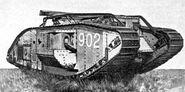 British Mark V-star Tank
