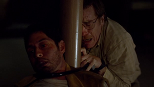 Max Arciniega dead in Breaking Bad-...And the Bag's in the River.