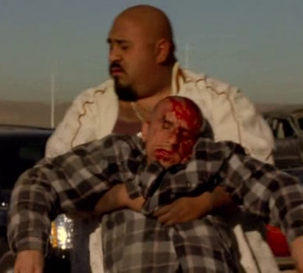 Cesar Garcia dead in Breaking Bad-A-No- Rough-Stuff-Type Deal.