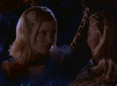 Amy Kerr about to be killed in Lexx