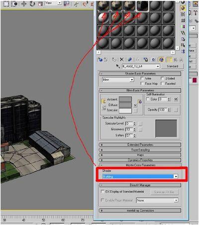 3ds max setup shader setup