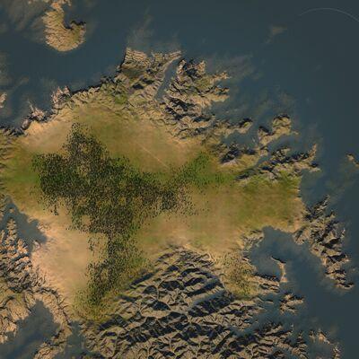 Overhead - The Small Peninsula