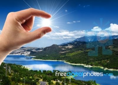 File:Landscape sun.jpg