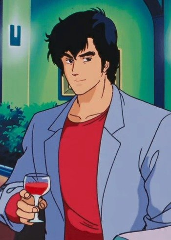 Ryo saeba cityhunter wiki fandom powered by wikia for Domon vs master asia