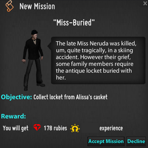 Miss Buried Mission