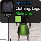 Apple Kilt