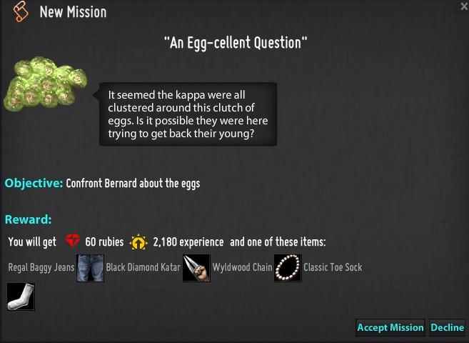 An Egg-cellent Question mission
