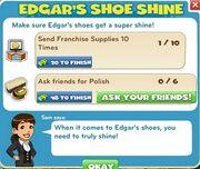 Edgar's shoe shine