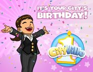 City's birthday fanpage