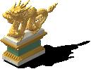 Dragon Statue 3-SW