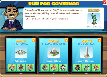 Run For Governor All Acts