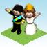 Waving Royal Couple-icon