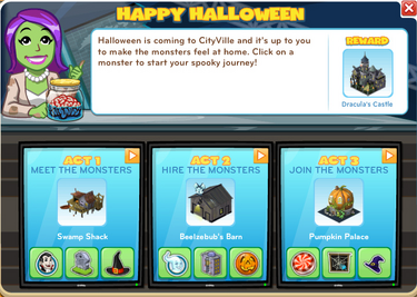Happy Halloween Menu