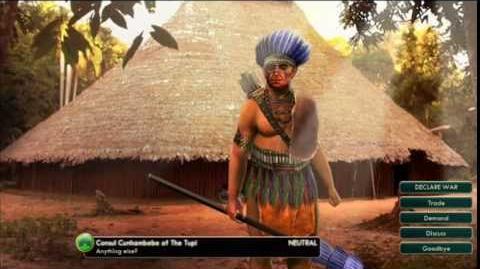 The Tupi - Cunhambebe Peace