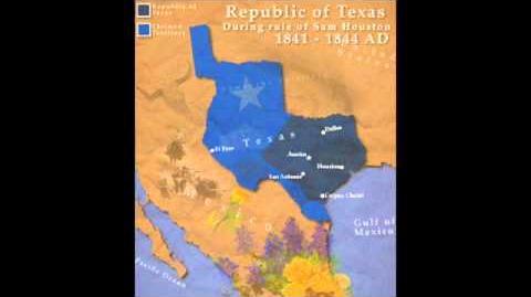 The Republic of Texas - Sam Houston War