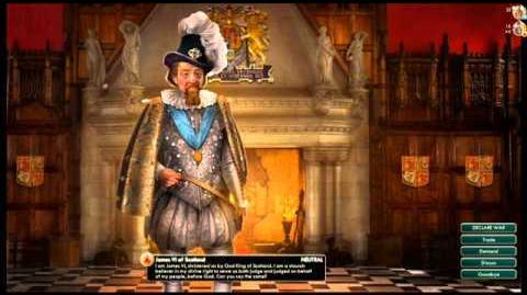 Scotland - James VI Peace