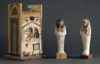 Khabekhent funerary servant and ushabti chest