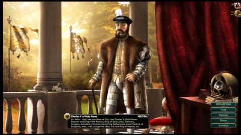 Holy Roman Empire - Charles V