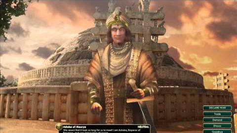 Maurya - Ashoka - War
