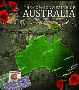 WWIIAusmap