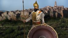 Etruscan scene