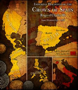TCM BOURBON SPAIN MAP