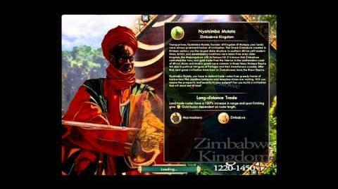 Zimbabwe - Nyatsimba Mutota - Peace