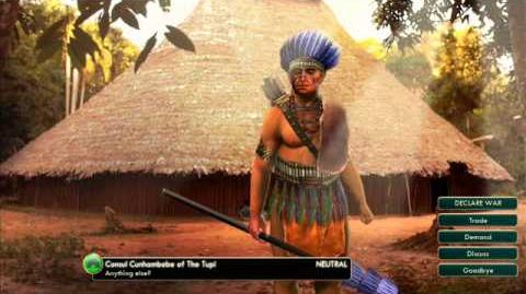 Tupi - Cunhambebe War